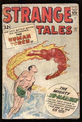 Picture of STRANGE TALES (1951) #107 1.0 PR
