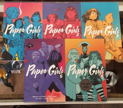 Picture of PAPER GIRLS VOLS 1 2 3 4 5 & 6 TPB SET