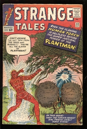 Picture of STRANGE TALES #113 4.5 VG+