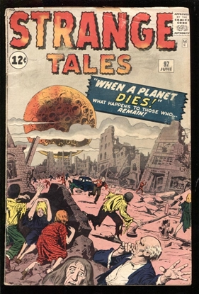 Picture of STRANGE TALES #97 3.5 VG-