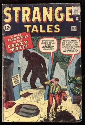 Picture of STRANGE TALES #100 2.0 GD