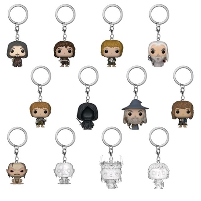 Picture of FUNKO MYSTERY MINI: LORD OF THE RING BLIND BAG KEYCHAIN