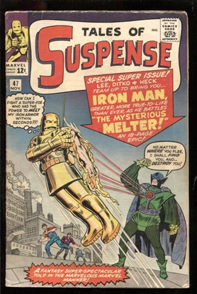 Picture of TALES OF SUSPENSE #47 4.0 VG