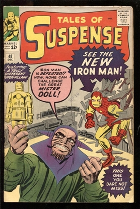 Picture of TALES OF SUSPENSE #48 4.0 VG