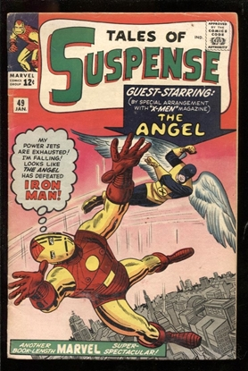 Picture of TALES OF SUSPENSE #49 4.5 VG+