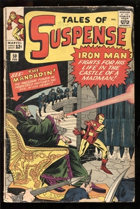 Picture of TALES OF SUSPENSE #50 3.0 GD/VG
