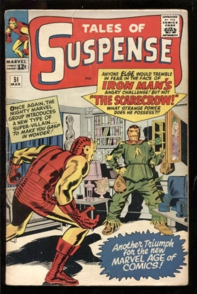 Picture of TALES OF SUSPENSE #51 3.5 VG-