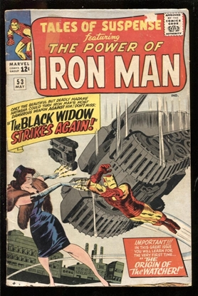 Picture of TALES OF SUSPENSE #53 4.0 VG