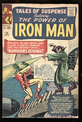 Picture of TALES OF SUSPENSE #54 4.0 VG