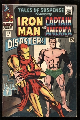 Picture of TALES OF SUSPENSE #79 5.0 VG/FN