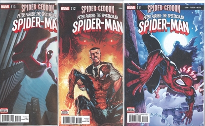Picture of PETER PARKER SPECTACULAR SPIDER-MAN #311-313 SPIDER-GEDDON 1ST PRINT SET NM