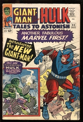 Picture of TALES TO ASTONISH #65 4.0 VG