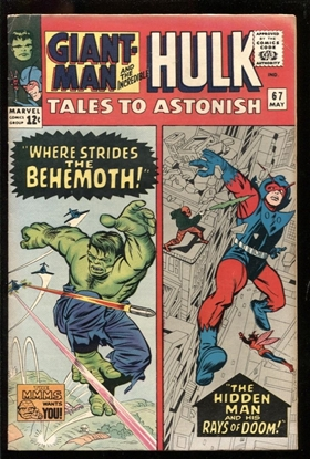 Picture of TALES TO ASTONISH #67 5.0 VG/FN
