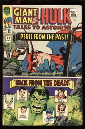 Picture of TALES TO ASTONISH #68 5.5 FN-