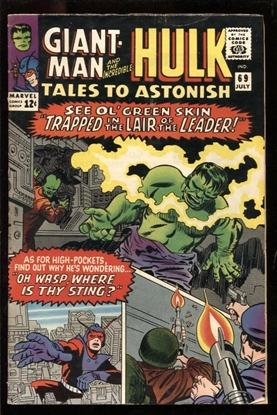 Picture of TALES TO ASTONISH #69 5.0 VG/FN