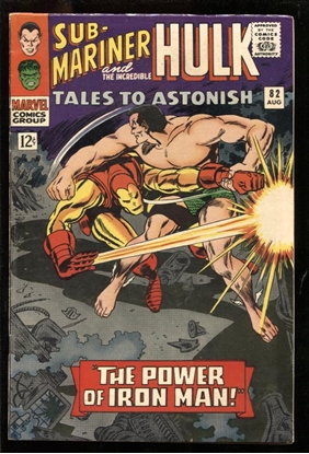 Picture of TALES TO ASTONISH #82 6.5 FN+