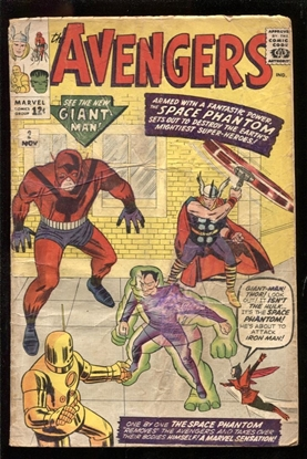 Picture of AVENGERS (1963) #2 1.8 GD-
