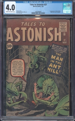 Picture of TALES TO ASTONISH (1959) #27 CGC 4.0 VG COW