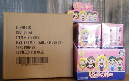 Picture of FUNKO SAILOR MOON SPECIALTY SERIES MYSTERY MINI BLIND BOX 12 PC SEALED CASE NEW VINYL FIGURES
