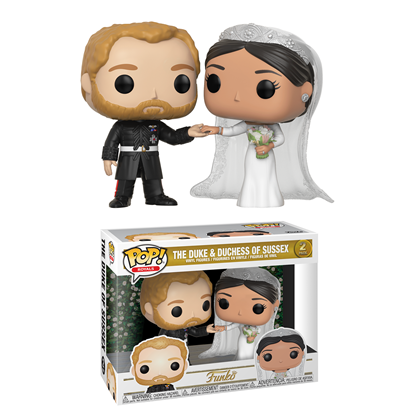 Picture of FUNKO POP ROYALS DUKE & DUCHESS OF SUSSEX 2PK NEW VINYL FIGURE