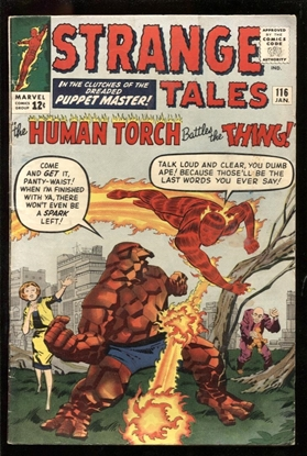 Picture of STRANGE TALES #116 4.5 VG+