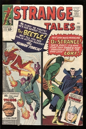 Picture of STRANGE TALES #123 5.5 FN-