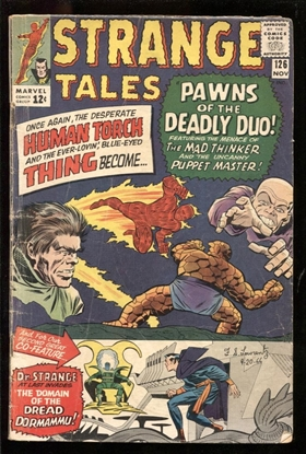 Picture of STRANGE TALES #126 3.0 GD/VG