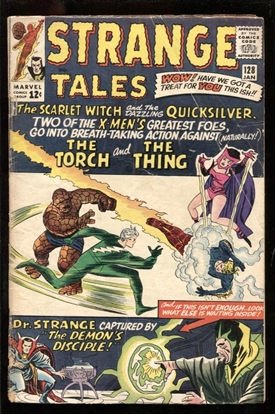 Picture of STRANGE TALES #128 2.5 GD+
