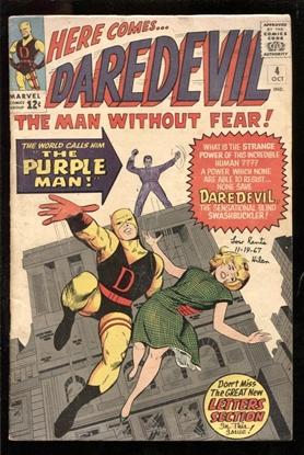 Picture of DAREDEVIL (1964) #4 4.0 VG
