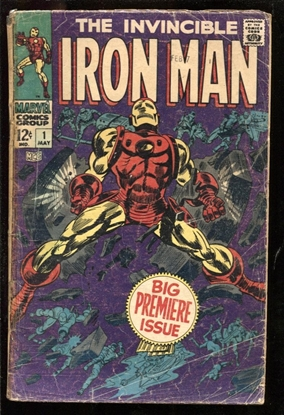 Picture of IRON MAN (1968) #1 1.5 FR