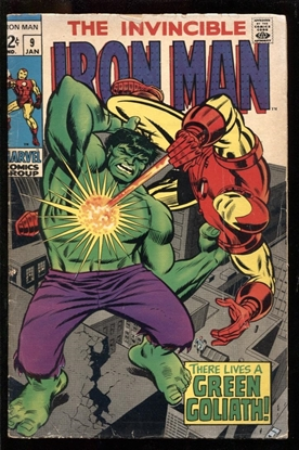 Picture of IRON MAN (1968) #9 4.0 VG