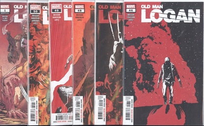 Picture of OLD MAN LOGAN #46-50 + ANNUAL 1 END OF WORLD SET NM