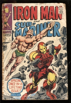 Picture of IRON MAN AND SUB-MARINER #1 1.8 GD-