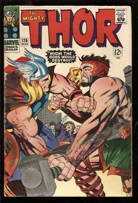Picture of THOR (1966) #126 2.5 GD+