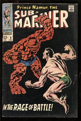 Picture of SUB-MARINER #8 5.0 VG/FN