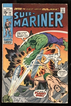 Picture of SUB-MARINER #34 5.0 VG/FN
