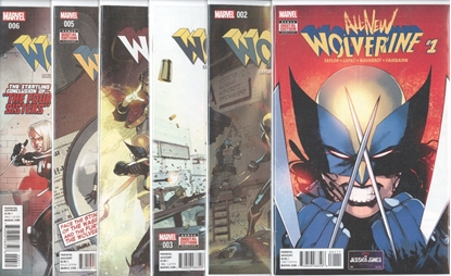 Picture of ALL NEW WOLVERINE #1-6 FOUR SISTERS SET NM