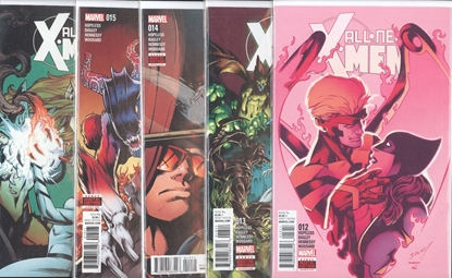 Picture of ALL NEW X-MEN INEVITABLE #12-16 HELL HATH SO MUCH FURY SET NM