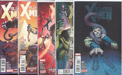 Picture of ALL NEW X-MEN INEVITABLE #7-11 APOCALYPSE WARS SET NM
