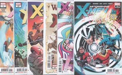 Picture of ASTONISHING X-MEN #13-17 + ANNUAL #1 SET