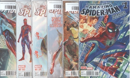 Picture of AMAZING SPIDER-MAN (2015) #1 6 COVER SET