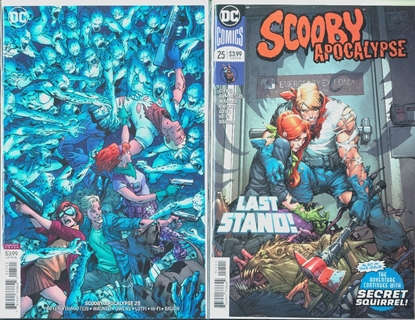Picture of SCOOBY APOCALYPSE #25 COVER SET NM
