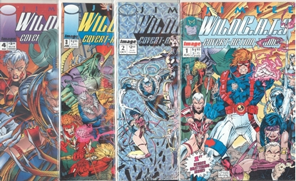 Picture of Wildcats Covert Action Teams (1992) #1-4 SET