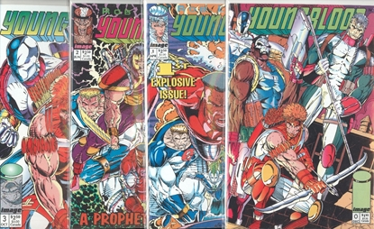 Picture of YOUNGBLOOD (1992) #0 CVR A 1-3 1ST PRINT SET