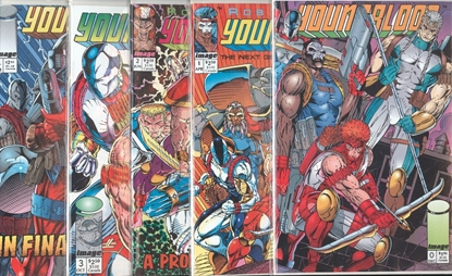 Picture of YOUNGBLOOD (1992) #0 CVR B 1-4 1ST PRINT SET