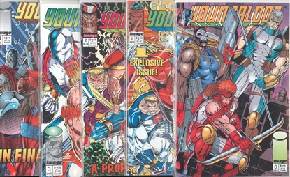 Picture of YOUNGBLOOD (1992) #0 CVR B 1 ALT COVER 1-4 1ST PRINT SET