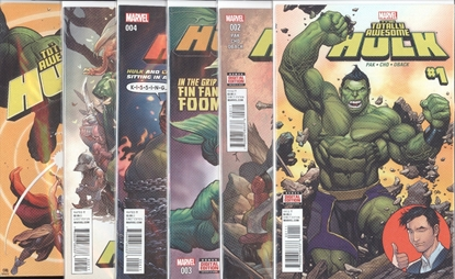 Picture of TOTALLY AWESOME HULK #1-6