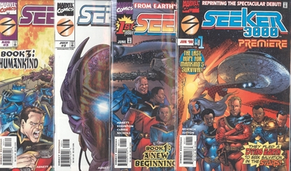 Picture of SEEKERS 3000 (1998) #1-3 PREMIERE 4 BOOK SET VF/NM