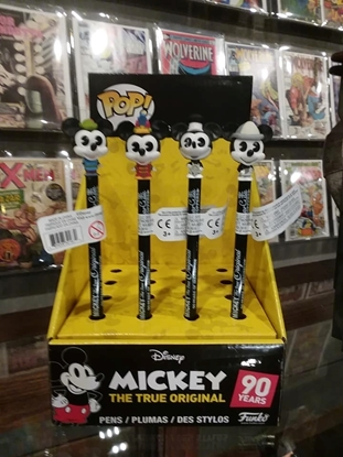 Picture of FUNKO POP! MICKEY'S 90TH ANNIVERSARY PEN TOPPER SET OF 4 NEW *STAND NOT INCLUDED!