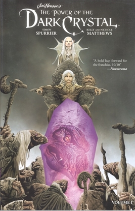 Picture of JIM HENSON POWER OF DARK CRYSTAL TP VOL 01 (C: 0-1-2)